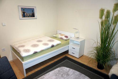 Schlafzimmer mit Einzelbett