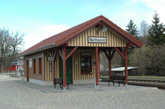 Öchsle-Bahnhof Warthausen
